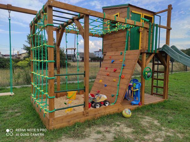 Drewniany plac zabaw, domek dla dzieci, model BLAZE MAX