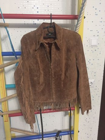 Куртка женская замш