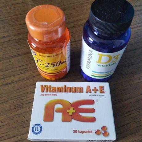 Witamina D3, C, A i E