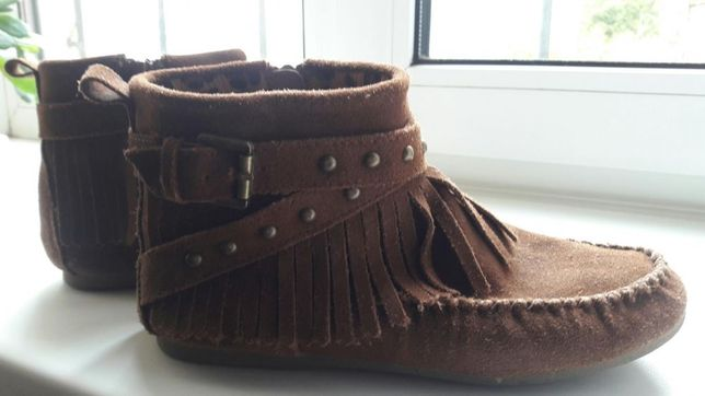 Замшевые ботиночки Next