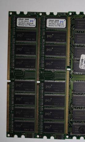 Оперативная память pq1 256mb DDR 400 (Отличное состояние ) 100 рублей
