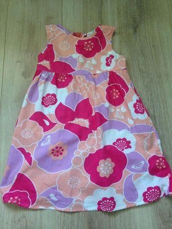 ROXY śliczna sukienka na lato 4/5 lat