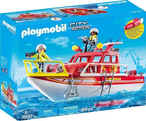 Playmobil 70147 Катер спасателей с мотором