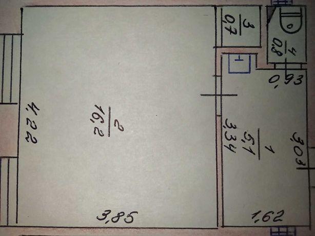 Продажа однакомнатной  квартиры, комната в общежитии. Северодонецк
