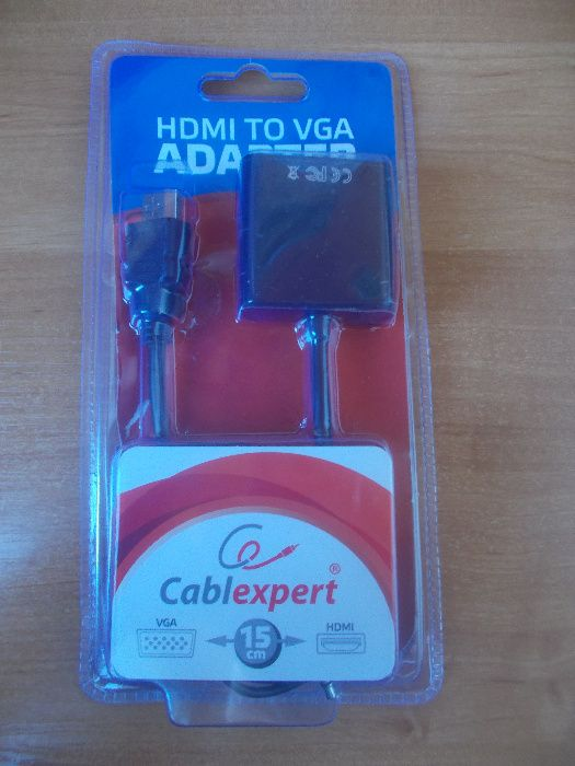 Адаптер Cablexpert B-HDMI-VGA-03