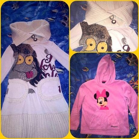 Пайта-свитер школьная, платье, туника детская