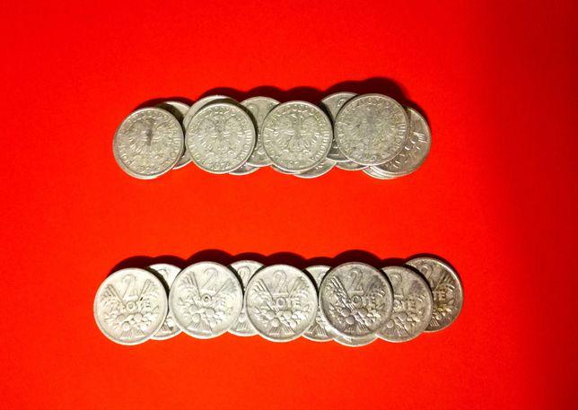 Stare monety. Nominal 2 zl.