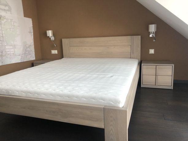 Łóżko drewniane 160x200 jesion