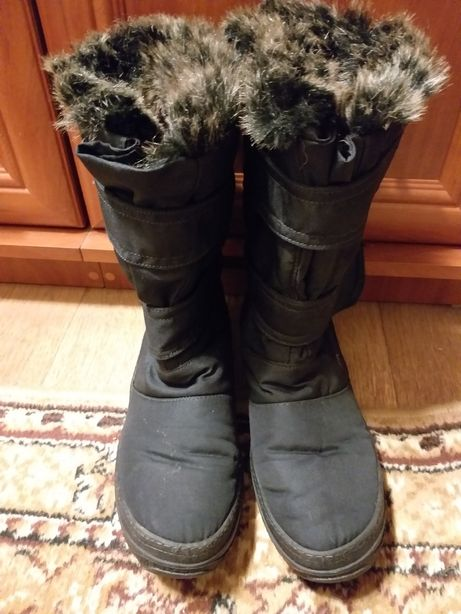 Зимние сапоги дутики ботинки зима мех