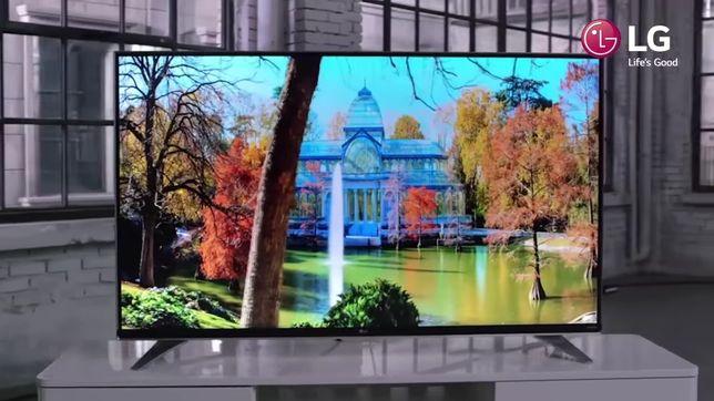 Telewizor LG 49cali 4K ultra HD wysoki model SMART TV webOS 3.0 piękny