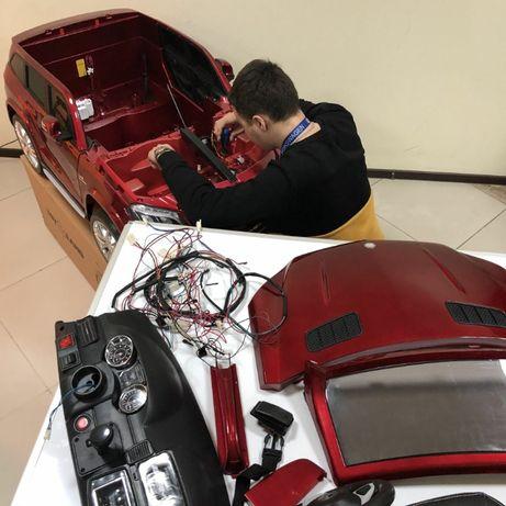 Ремонт Электромобилей, электросамокатов и пр. детского транспорта