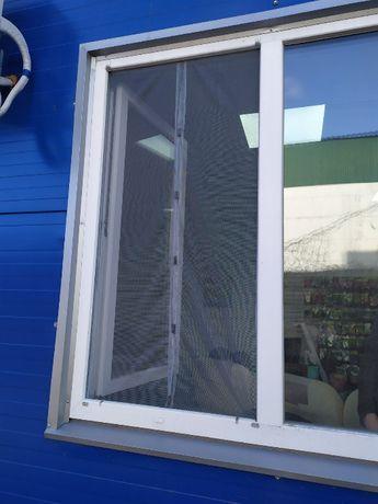 Сетка москитная на магнитах на окно