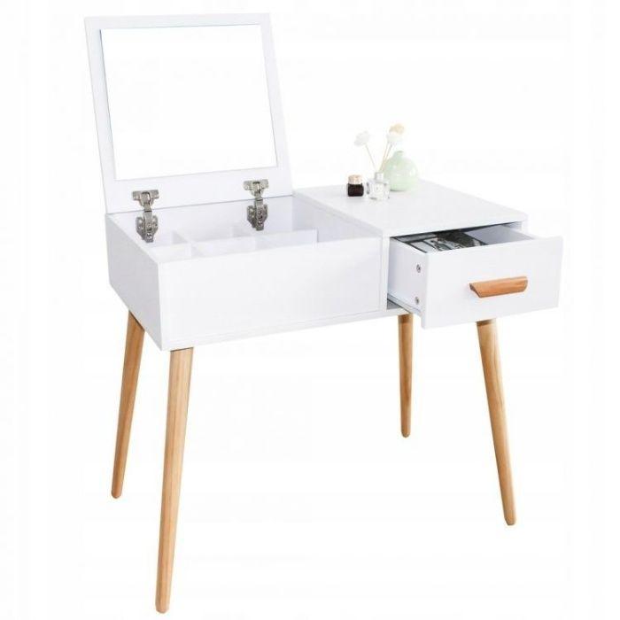 Nowoczesna toaletka kosmetyczna z lustrem Rokietnica - image 1