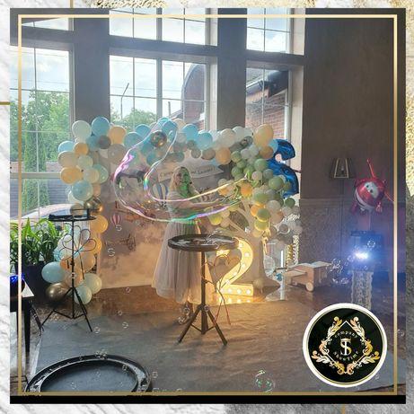 Шоу мыльных пузырей на детское День Рождение .Одесса
