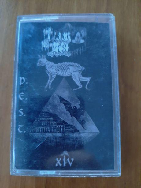 BLACK PEST - P.E.S.T XIV - black metal z Chile - kaseta