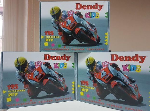 Игровая приставка Денди Сюбор 8 Бит + 195 игр Dendy 8 Bit Картриджи