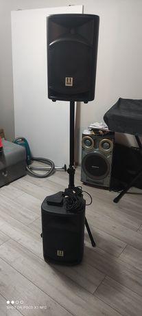 Kolumny Hill Audio SMA 1020 , statyw , bluetooth, kabel 15metrow.