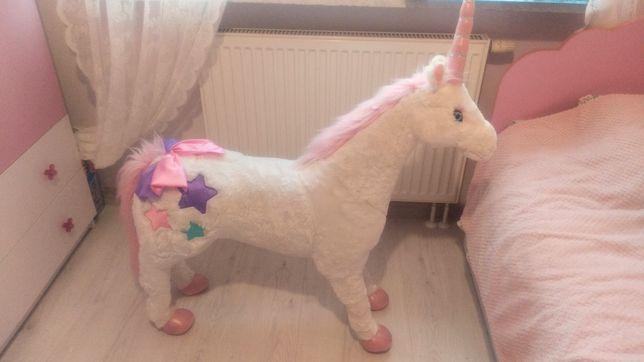 unicorn jednorożec mega wielki 100 cm pod choinkę