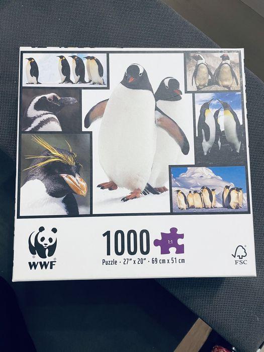Puzzle 1000 elementów WWF Radom - image 1