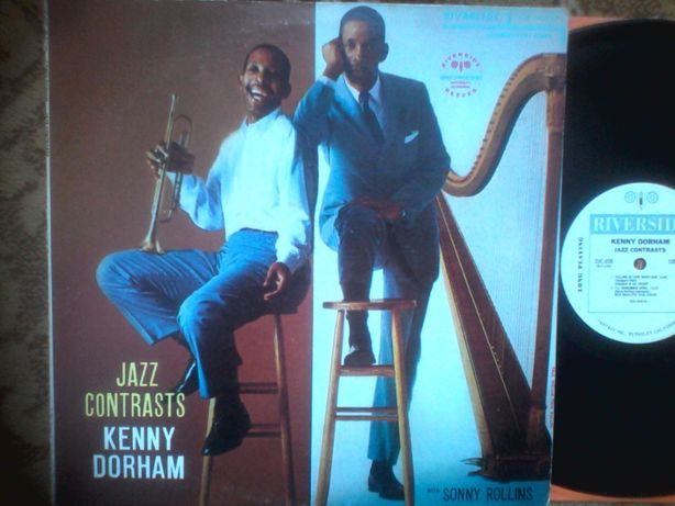 lp Kenny Dorham with Sonny Rollins – Jazz Contrasts 1957 USA пластинка