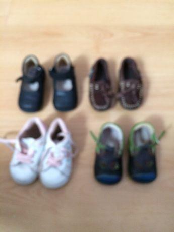 Sapatos 18 e 20
