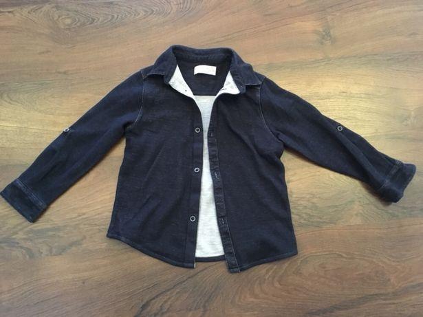 Koszula dzianina Zara 116 idealna
