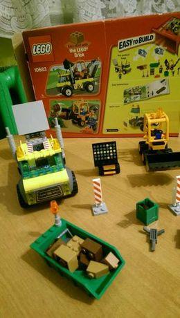 GOTOWE Lego Juniors 10683 Ciężarówk a do robót drogowych4+ odbiór osob