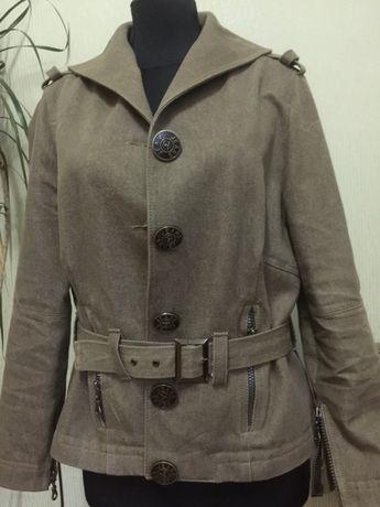 Джинсовая куртка 46-48р