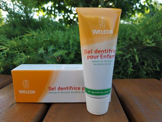 Гель- зубная паста Weleda, аптечная косметика с Франции