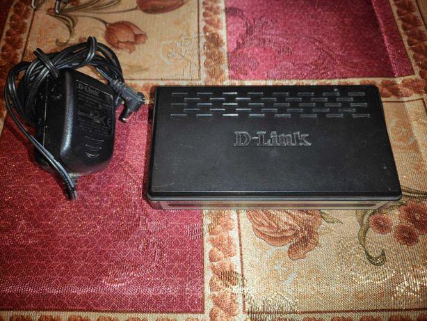 Cвитч D-Link DES-1008A