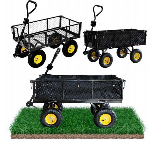 Садовий прицеп XL тележка 400кг тачка садовый инвентарь садовая до ATV