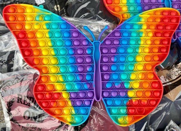 Поп ит, pop it, бабочка поп ит, огромная бабочка поп ит, pop it