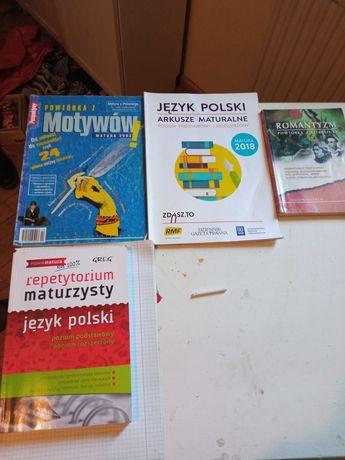 Książki do matury j.polski