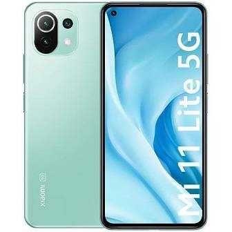 Smartfon,Telefon XIAOMI MI 11 LITE 6 GB / 128 GB zielony