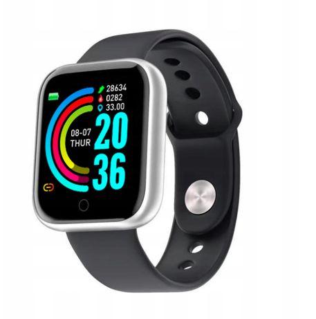 Opaska Sportowa Smartwatch SmartBand Zegarek / Srebrny