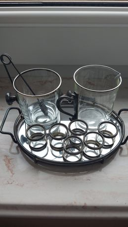 Antyk szklany i miedziany