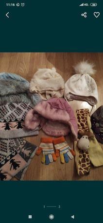 Шапки шарф теплі