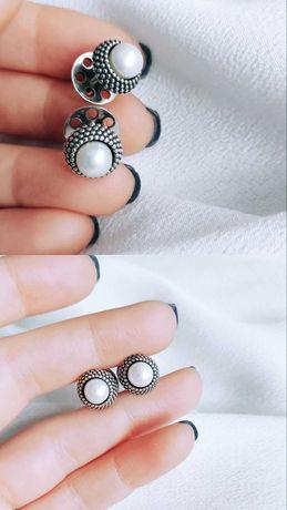 Сережки срібні 925