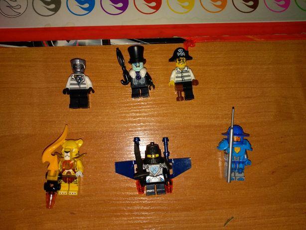 Zestaw figurek Lego Chima Nexo Ninjago.Możliwy zakup poj.sztuk