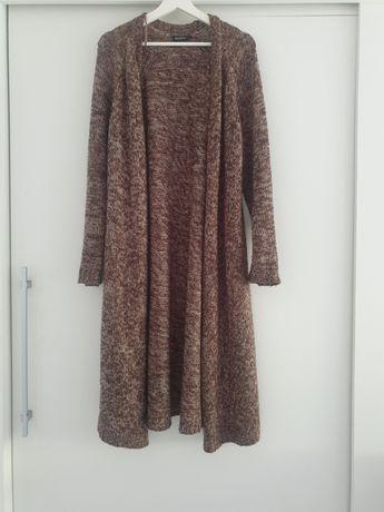 Długi sweterek rozmiar 48