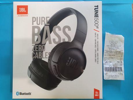 Nowe Słuchawki nauszne JBL Tune 500BT bezprzewodowe