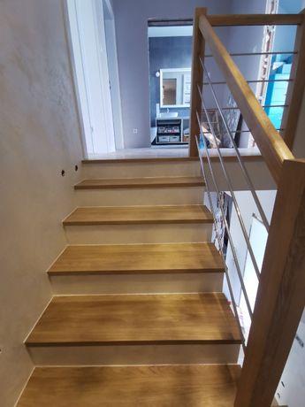 Schody drewniane, schody dębowe na wymiar