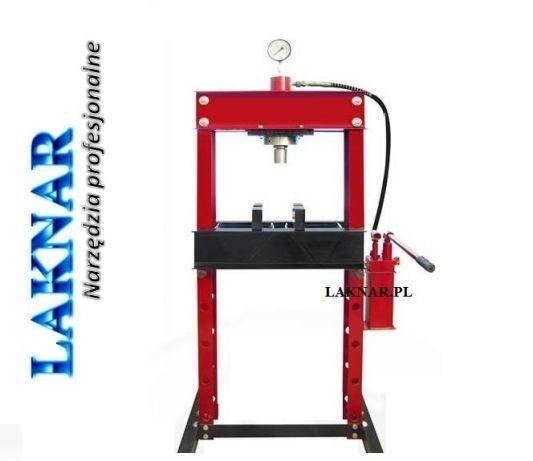 Prasa hydrauliczna 20t - pompa II-stopniowa