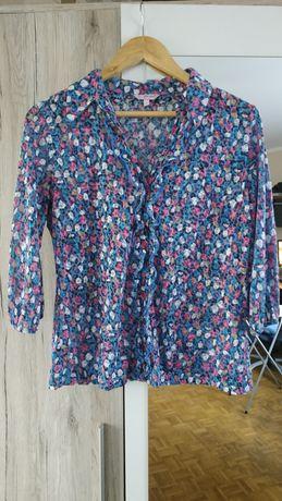 Koszula M&S rozmiar 38 M, rękawki 3/4 używana