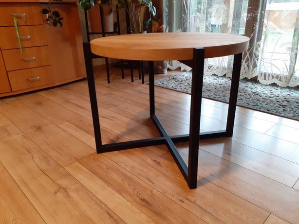 Stelaż do stolika kawowego okrągłego w stylu Loft