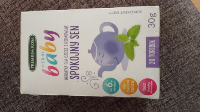 Herbatka na sen, dla dzieci