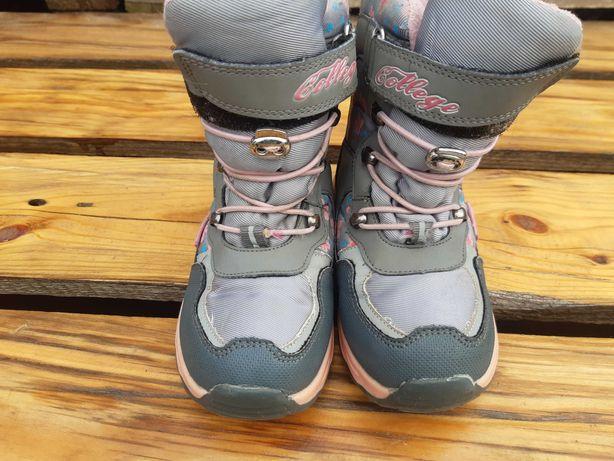 Термо ботиночки на девочку 29 размер