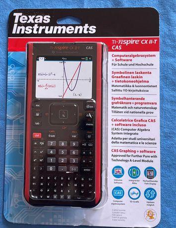 Kalkulator graficzny CAS TI-Nspire ™ cx[stan idealny]