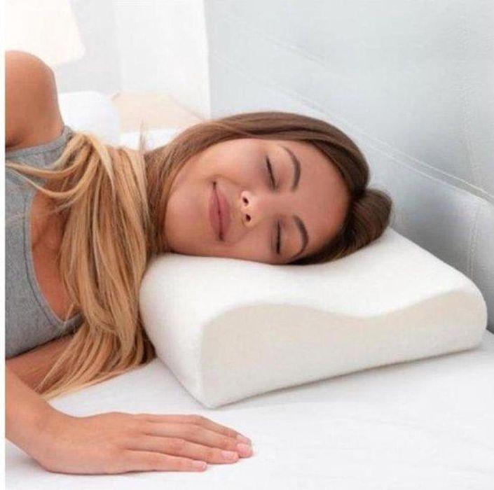 Ортопедическая подушка Comfort Memory Pillow с наволочкой Харьков - изображение 1
