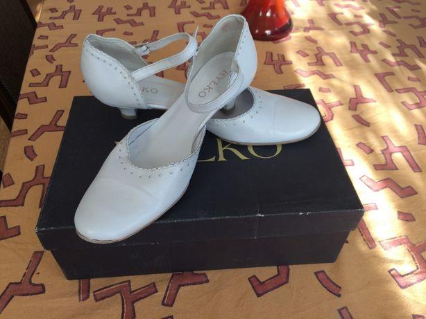 Białe buty do ślubu RYŁKO, rozm. 37